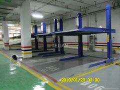 Double Column Two Layer Simple 2 Post Parking Equipment