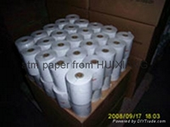 55g thermal ATM paper in small rolls