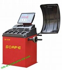 SCAPE SB-308 Auto Wheel Balancer Made in