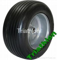 18x8.50-8 flat free tire Polyurethane foam tire golf cart tire PU foam tire