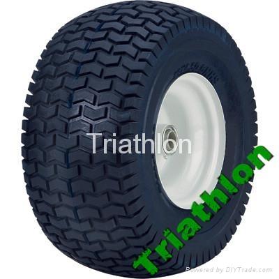 16x6.50-8 flat free tire Polyurethane foam tire wheelbarrow tire PU foam tire 1