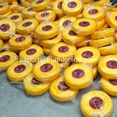 10 inch 3.50-4 solid rubber tire PU foam tire Flat free tire for Vietnam
