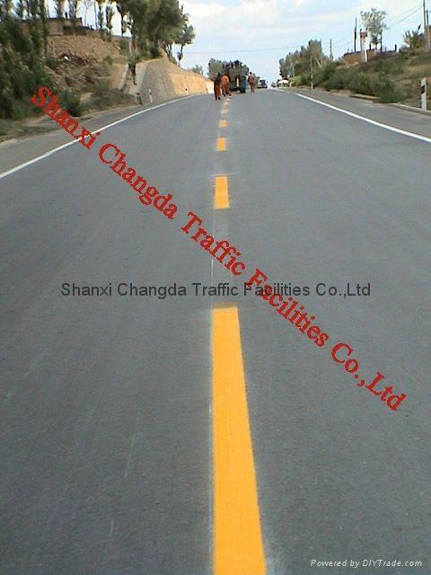 Thermoplastic Spray Road Marking Paint Shanxi Changda