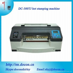 digital foil printer DC-300TJ digital hot foil stamping machine A3 size
