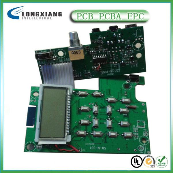 PCB电路线路HDI高密度盲埋孔阻抗板生产厂家 4