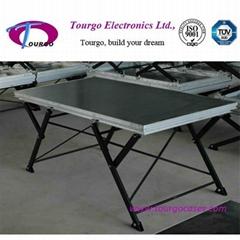 Tourgo X Shaped Folding Stage