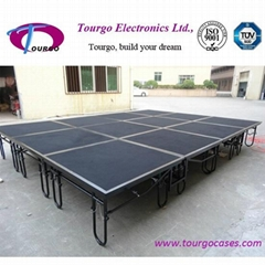 Tourgo Steel stage