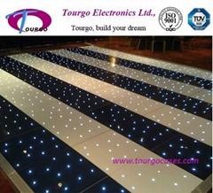 Black and White Starlit LED Dance Floor