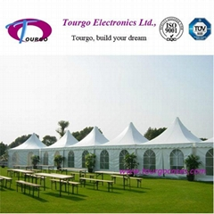 Outdoor White Party Tent