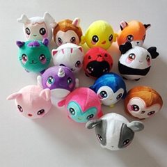 Squeezamals,Plush Squishy Slow Rising Foamed Stuffed Animal toys