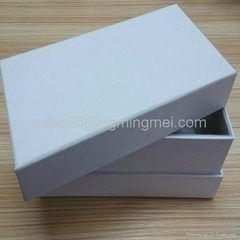 White Paper Carboard Gift Package Box with Lid