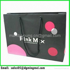 Paper Shopping Gift Bags Manufacturer