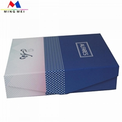 Customized Folding/ foldable/ Collapsible paper storage boxes Dongguan supplier