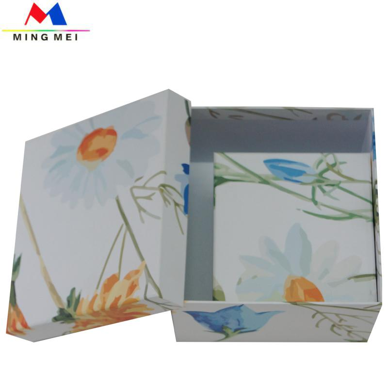 Nice Square paper Gift box with customized design  2
