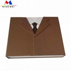 Luxury paper gift package box for Clothing set package