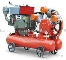 Low pressure air compressor with 3 cylinder