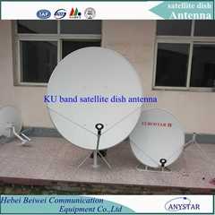 KU 120CM portable satellite antenna