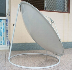 C/ku band 120 satellite dish