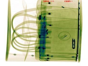 輸送式手袋x光檢針機 1