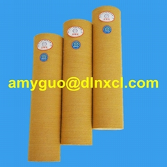 PBO/Kevlar roller sleeve for aluminium extrusion industry
