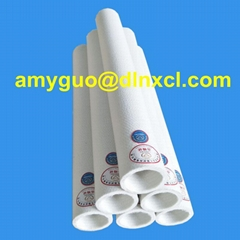 Polyester roller sleeve for aluminium extrusion handling system