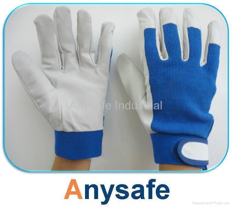Pigskin leather gloves 1