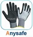 Cut resistant gloves - 13G HPPE liner