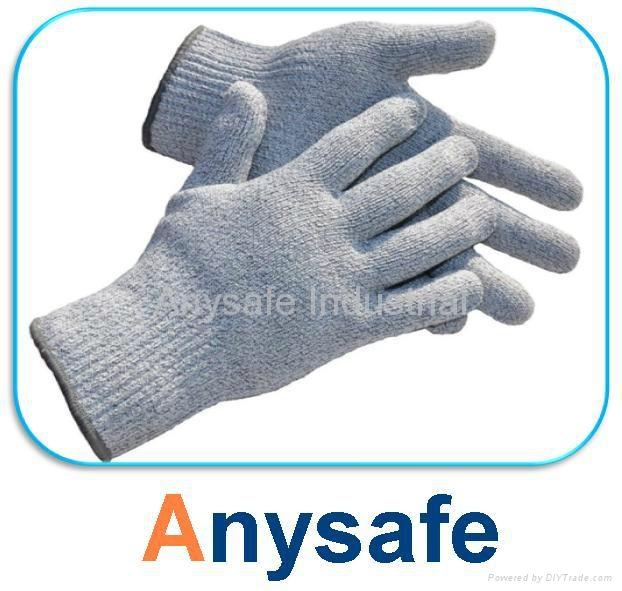 Cut resistant gloves - 10G nylon glass fiber HPPE/steel liner 1
