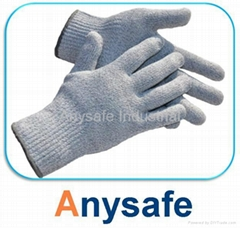 Cut resistant gloves - 10G nylon glass fiber HPPE/steel liner