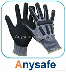 Cut & Impact Resistant TPR Gloves