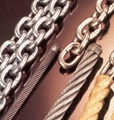 We sell Wire ropes; Chain; Hooks & Links; Accessories