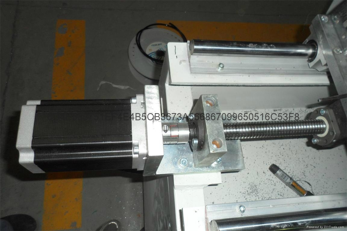 Aluminum doors and Windows Angle code CNC automatic cutting saw machine 3