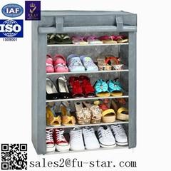 Organizer Storage Pair Tower Space Free Standing Tier Jordan Shoes Rack