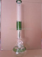 glass bong beeutiful filte water pipe smoking hookah