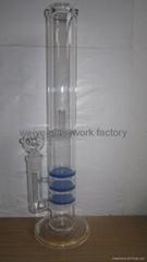 glass bong beautiful filte water pipe bubbler