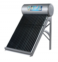 OEM Factory Non-Pressurized  Solar Water Heater With Painted Steel Shell Or