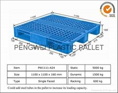 single side plastic pallet