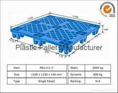 light duty plastic pallet