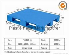 Flat Surface Plastic Pallet