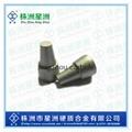 Non-standard shaped carbide