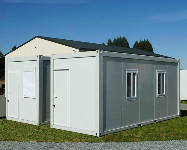 prefabricated flat pack 20ft container house luxury 3