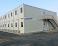 prefabricated flat pack 20ft container house luxury 4
