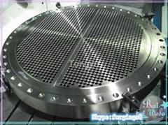 锻造精加工换热器管板