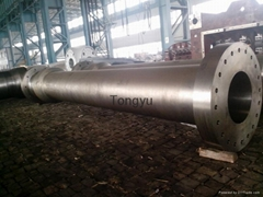 hydraulic turbine shaft