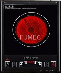 Electric heat stove (press control)