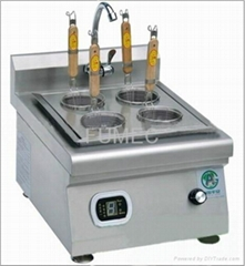 Four-eyes western style induction noodle resturant stove