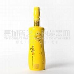 陶瓷酒瓶原创设计一生一世酒