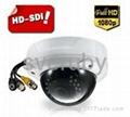 1080P HD Sdi Varifocal IR Dome CCTV Security Camera