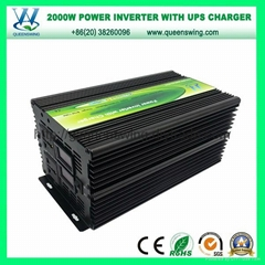 UPS 2000W Solar Power Inverter with Charger (QW-M2000UPS)