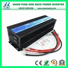 6000W Intelligent DC AC Pure Sine Wave Power Inverter (QW-P6000)